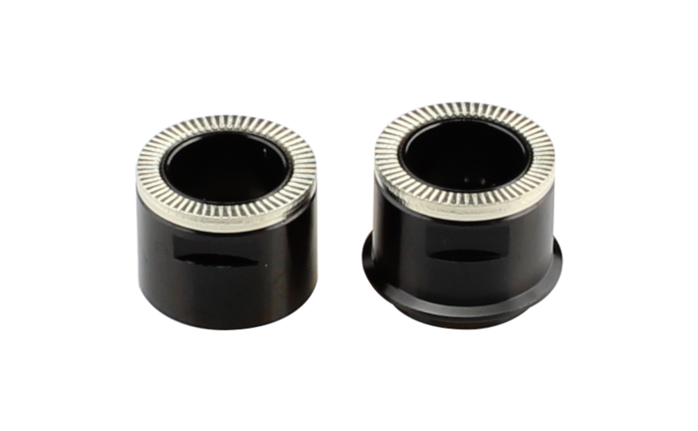 Side cap REAR X12, AL-BLK, L/R-1pc type, for D942SB, Novatec 30 one set in PE-bag