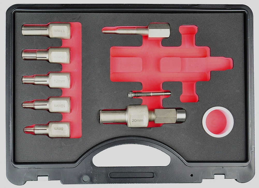 Hub Bearing Puller Tool Kit (I.D.8/9/10/12/15/17/20mm) (1.49KG)