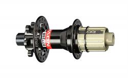 12x190mm Rear D202SB-S4S IU 6-Bolt Hub Novatec 32H Black