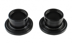 Side cap FRONT 20, AL-BLK, L/R for DH41SB, DH61SB assembled