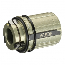 Freehub body A/A2 type, Shim.11 ABG, alloy 3-pawls