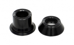 Side cap FRONT 12, CL, L/R AL-BLK, for D411SB-CL, D411CB-CL