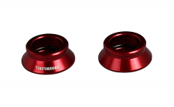 Side cap FRONT 15-P, AL-RED, L/R, MULTI for XD831CB/D411CB-15