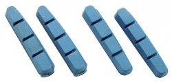 Brake pads Campy for carbon wheels - blue (4pcs) AM