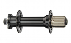 Hub rear D202SB-10-S4S black, 32 hole